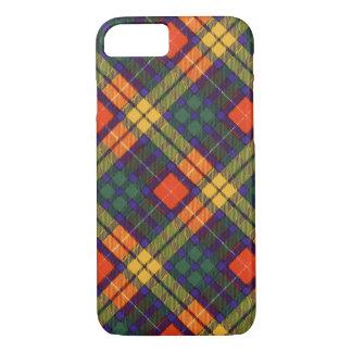 Buchanan家族の一族の格子縞のスコットランドのキルトのタータンチェック iPhone 8/7ケース
