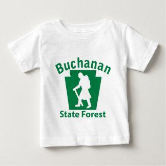 Buchanan SFのハイキング(女性) ベビーTシャツ