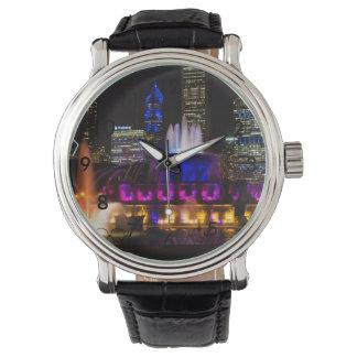 Buckinghamの噴水シカゴ 腕時計