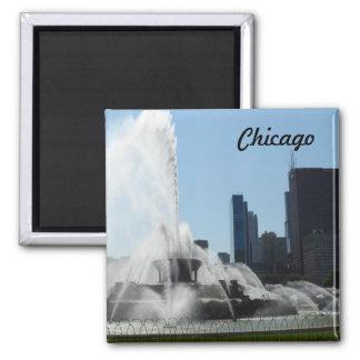 Buckinghamの噴水-シカゴ マグネット
