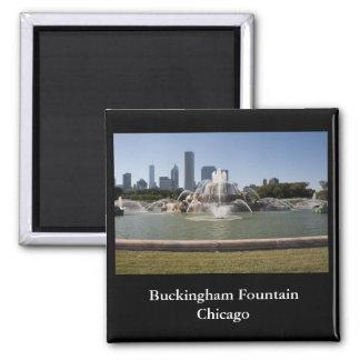 Buckinghamの噴水、シカゴ マグネット