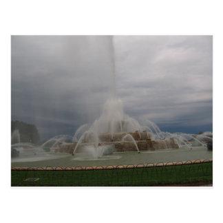 buckinghamの噴水 ポストカード