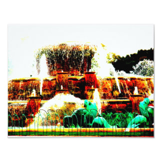 Buckinghamの噴水、米国 カード
