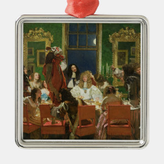 Buckinghamの生命、1853-55年(キャンバス) (sの油 メタルオーナメント