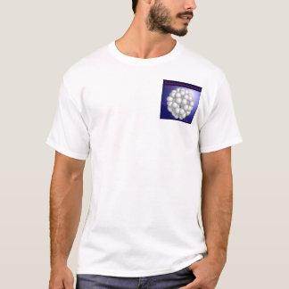 Buckminsterfullereneの分子(ポケット) Tシャツ