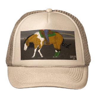 Buckskinの制止の馬 キャップ