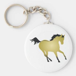 Buckskinの馬 キーホルダー
