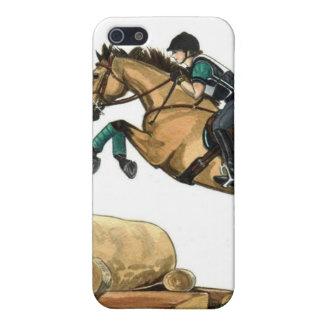 BuckskinのEventingの騎手 iPhone 5 Cover