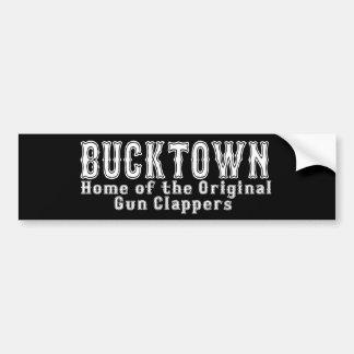 Bucktownブルックリン バンパーステッカー