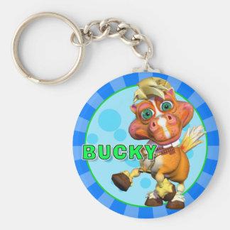 "Bucky ""GiggleBellies""馬Keychain キーホルダー"