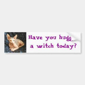 Buda 8、魔法使いを今日抱き締めましたか。 バンパーステッカー