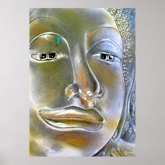 Buddah -スパのアートワーク ポスター