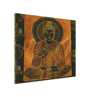 Buddha3をめい想することはキャンバスのプリントを伸ばしました キャンバスプリント