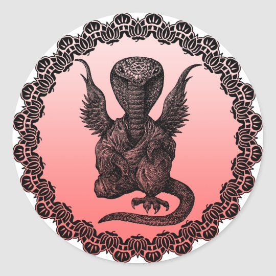 buddhism cobra ラウンドシール