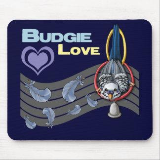 """Budgie愛""""かわいこちゃん""""のマウスパッド マウスパッド"""