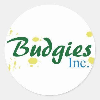 Budgies Inc. ラウンドシール