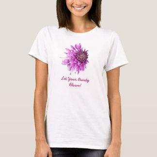 Bueatyのあなたの開花を許可して下さい! Tシャツ