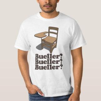 Bueller Bueller Bueller Tシャツ