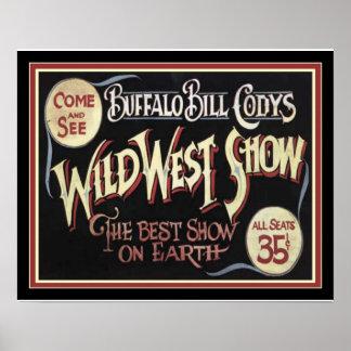 Buffalo Bill's Wild West Poster 16 x 20 ポスター