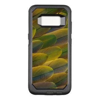 Buffonのコンゴウインコの羽 オッターボックスコミューターSamsung Galaxy S8 ケース
