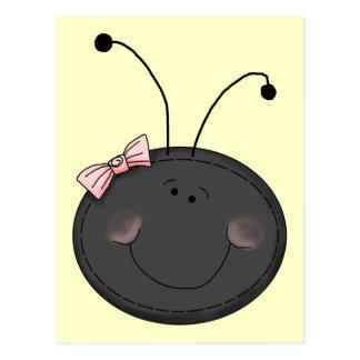 Bug Face女性 ポストカード