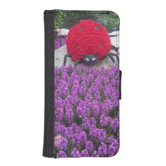 Bug GardenラスベガスiPhone 5/5sのウォレットケースの女性 iPhoneSE/5/5sウォレットケース
