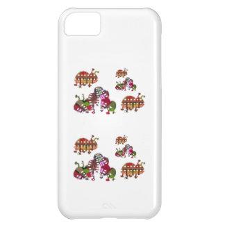 Bug Graphic幼虫およびてんとう虫の女性 iPhone5Cケース