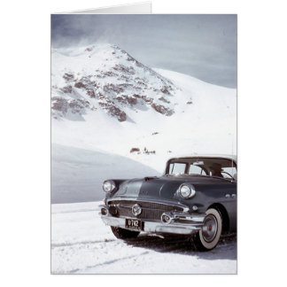 Buickおよびコロラド州山 カード