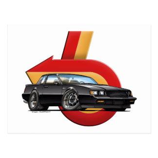Buickのグランドナショナル ポストカード