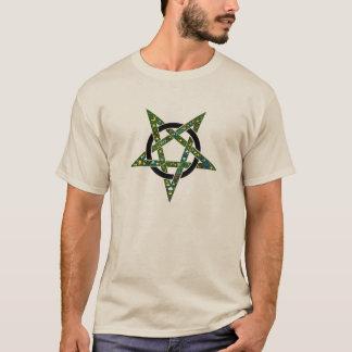 Built4Loveによる神秘的なemojiのpentangleのデザイン、 Tシャツ