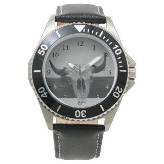 Bullのスカルの腕時計 腕時計