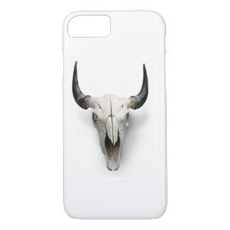 Bullのスカルの電話箱 iPhone 8/7ケース