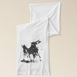 Bullのポップアート スカーフ