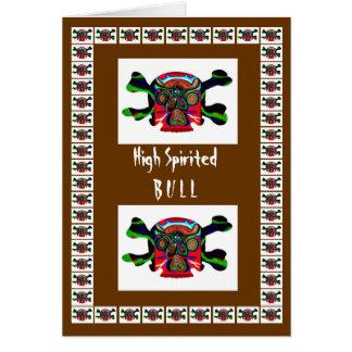 Bullのマスコット: ART101高い活気があるモンスター動物 カード