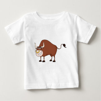 Bullのマンガのキャラクタ ベビーTシャツ