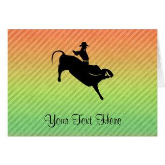 Bullのライダー カード