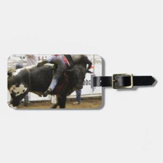 Bullの乗馬 ラゲッジタグ