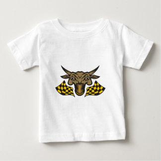 Bullの操業の競争 ベビーTシャツ