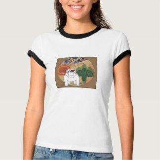 Bullの救助の女性の信号器のTシャツを愛して下さい Tシャツ