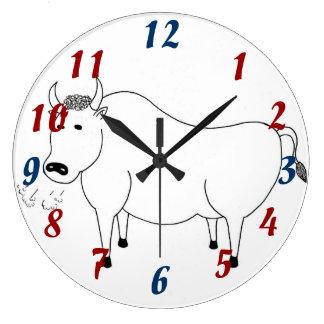 Bullの民芸の時計 ラージ壁時計