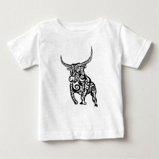 Bullの種族の芸術 ベビーTシャツ