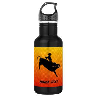 Bullの黄橙色の乗馬 ウォーターボトル