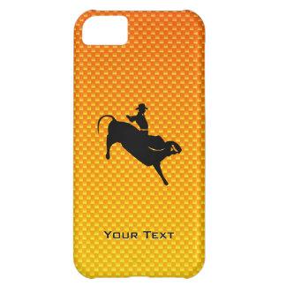 Bullの黄橙色の乗馬 iPhone5Cケース