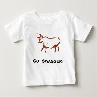 Bullは濶歩を得ました ベビーTシャツ
