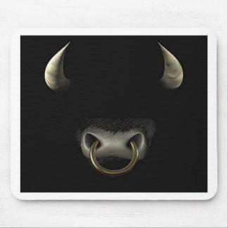 Bullは直面します(完全) マウスパッド