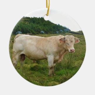 Bull セラミックオーナメント