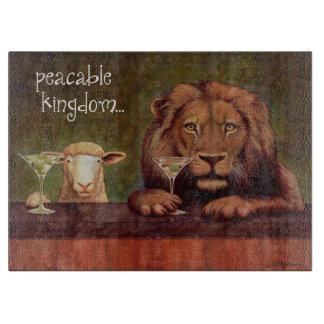"""Bullasのまな板""""温和な王国… """" カッティングボード"""
