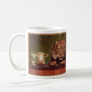"""Bullasのマグの""""2個のオリーブとの温和な王国。 コーヒーマグカップ"""