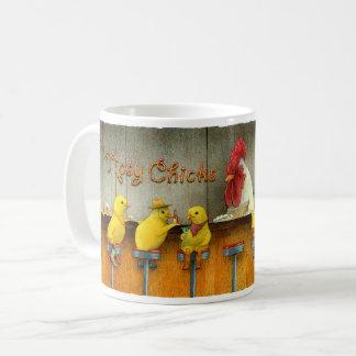 Bullasのマグ/よろよろしているひよこ コーヒーマグカップ