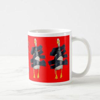 """Bullasのマグ""""アヒルテープ… """" コーヒーマグカップ"""